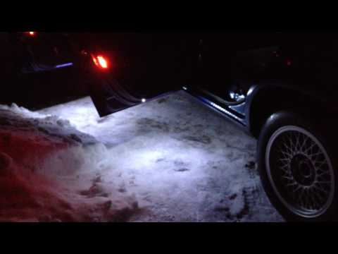 Подсветка зоны высадки (Volvo 940)