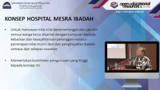 USIM OER - Fiqh Perubatan : Konsep Hospital Mesra Ibadah