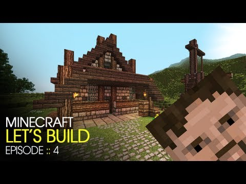 Minecraft :: Lets Build :: E4 :: Sawmill