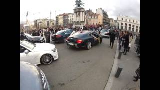 getlinkyoutube.com-La Bentley de la mariée prend feu