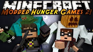 getlinkyoutube.com-Minecraft MODDED HUNGER GAMES : TEAM MATCH!