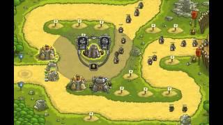getlinkyoutube.com-Kingdom Rush - Level 14 (Campaign, Premium Content) - Ruins Of Acaroth
