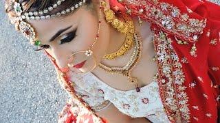 getlinkyoutube.com-Asian/ Pakistani/Indian Bridal Glam Makeup Tutorial