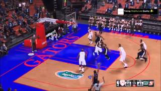 Nba 2k16 (Fist horns 91) Best play in the game (Wiz Playbook)
