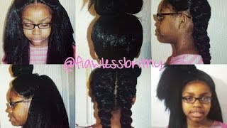 getlinkyoutube.com-Vixen Crochet - No Leave Out | Knotless Crochet
