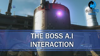 The Boss A.I Interactions - Metal Gear Solid V: The Phantom Pain