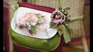 getlinkyoutube.com-Потрясающие кожаные сумки своими руками. Смотрим фото сумки своими руками из кожи