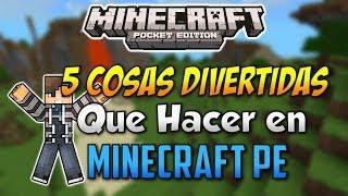 getlinkyoutube.com-5 Cosas Divertidas Que Hacer En Minecraft Pocket Edition