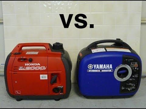 Yamaha Tri Fuel Inverter Generator