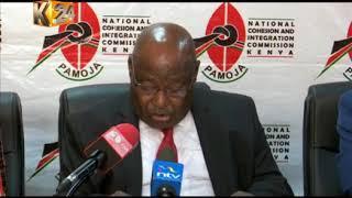 Mwenyekiti wa NCIC awataka Raila na Uhuru kuketi ili kuepusha ghasia