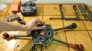 getlinkyoutube.com-Tarot 650 Sport: сборка квадрокоптера