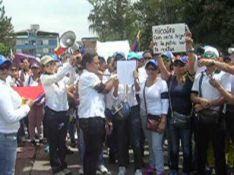 Marcha de las Mujeres por la paz y la justicia Merida 26F I