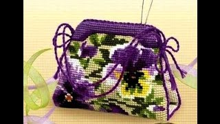 getlinkyoutube.com-Вышитые сумки крестиком. Красивые женские сумки, вышитые крестиком