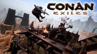 Conan Exiles - Korai Hozzáférés Megjelenés Trailer