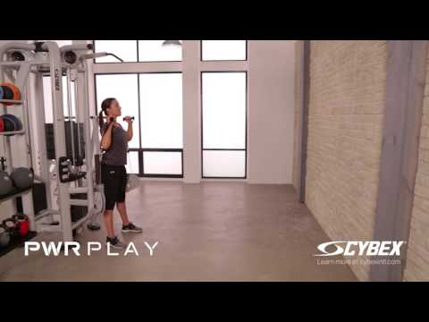 Cybex PWR PLAY - Supported Overhead Press