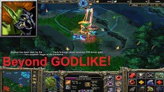 DotA 6.81d - Troll Warlord, Jah'rakal Beyond GODLIKE !