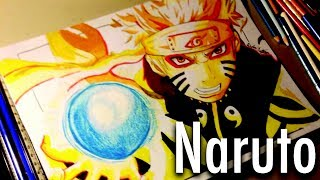 getlinkyoutube.com-Drawing Naruto Bijuu Sage Mode
