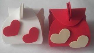 getlinkyoutube.com-como fazer uma lembrancinha para casamento em EVA