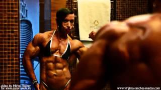 getlinkyoutube.com-Virginia Sanchez Macias mirror posing promoclip