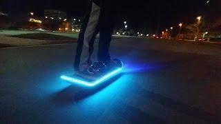 getlinkyoutube.com-NEW 2016 LED Hoverboard (One Wheel Hoverboard)