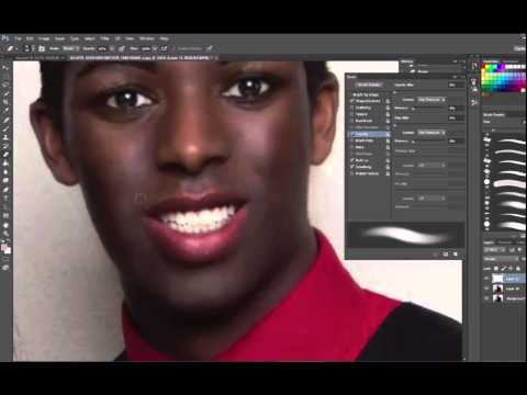 Gender Transformation in Photoshop