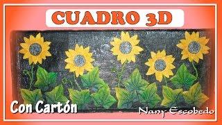 getlinkyoutube.com-CUADRO 3D CON CARTÓN