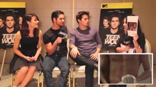 getlinkyoutube.com-Teen Wolf Cast | Funny Moments (Part 1)