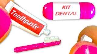 getlinkyoutube.com-Miniature toothpaste & toothbrush tutorial for dolls - DIY - YolandaMeow♡