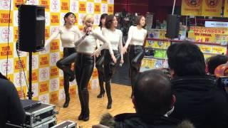 150312 TAHITI(타히티) Oppa you are mine(오빤 내꺼) Shibuya Tower Records