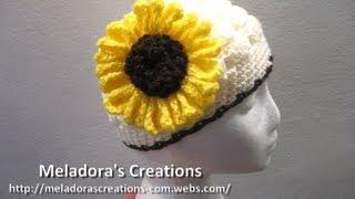 Crocheted Sunflower   Crochet Tutorial