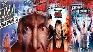 getlinkyoutube.com-The Evolution Of WWE Games { From WWF Just Bring It! to WWE 2K15 }