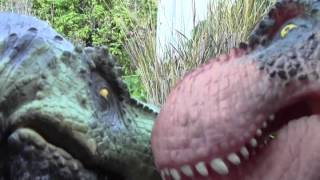 getlinkyoutube.com-T Rex vs Carnotaurus 2