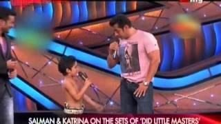 getlinkyoutube.com-Salman & Katrina on the Sets of DID Little Master's