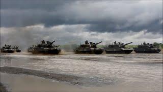 getlinkyoutube.com-陸上自衛隊第7師団創隊60周年記念行事 戦車パレード2015 フル The tank parade of JGSDF 7th division