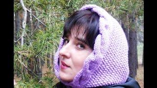 getlinkyoutube.com-Мастер-класс по вязанию женского капора спицами