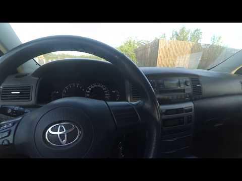 Регулировка яркости панели приборов. Toyota corolla E12. ЛёхаБаратрум