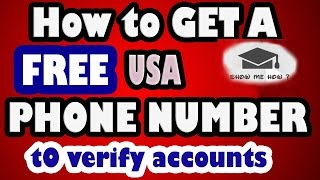 getlinkyoutube.com-Get now your free U.S number to have fake Whatsapp num