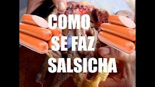 getlinkyoutube.com-Como se faz salsicha - Veja como é fabricada a salsicha - dublado portugues