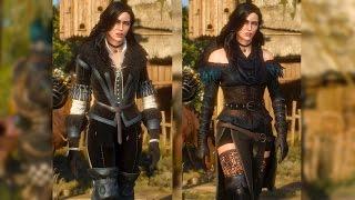 getlinkyoutube.com-Yennefer: Original & Alternative Look DLC. Geralt Meets Yen (Witcher 3 | Sexy Stockings)