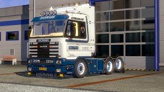 ETS 2 | Scania 143 | Streamline | KPT | In the mountains | Skovgaard Driving