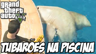 getlinkyoutube.com-GTA V - TUBARÕES NA PISCINA