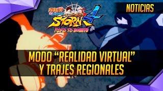 """getlinkyoutube.com-Naruto Storm 4: Road to Boruto - NUEVO Modo """"Realidad Virtual"""" y Trajes Regionales"""