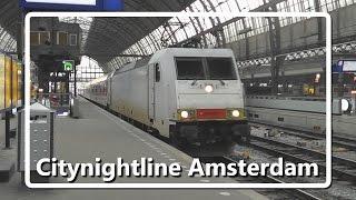getlinkyoutube.com-Euronight / Citynightline arriveert op station Amsterdam Centraal!