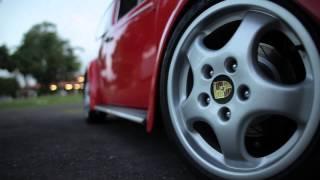 getlinkyoutube.com-LOW1 - VW Fusca Vermelho German Look Aircooled - Famoso 'Duda'
