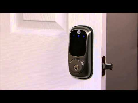 Yale Real Living Touchscreen Deadbolt Programming - Language Setting Mode 10