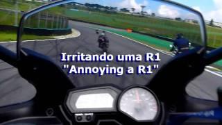 getlinkyoutube.com-HD Track Day Interlagos com acidentes. Motorcycles Overtakes and Crashes