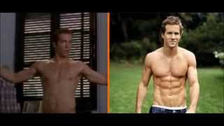 getlinkyoutube.com-Celebrities transformations BEFORE & AFTER The rock, Mel Gibson, Jason Statham, Zyzz, etc
