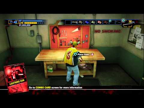 Dead Rising 2: Off the Record Laser Gun, Boomstick, Laser Sword, Super BFG, Lightning Gun Guide
