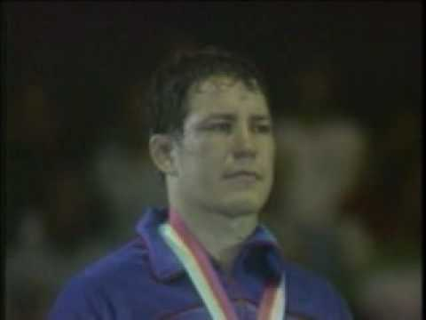Steve Fraser 5 A 2 USA Fraser Gold Medal Awards Ceremony Complete 1984 Olympics Los Angeles
