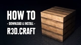 getlinkyoutube.com-R3D.CRAFT - How to download & install (Minecraft 1.8)